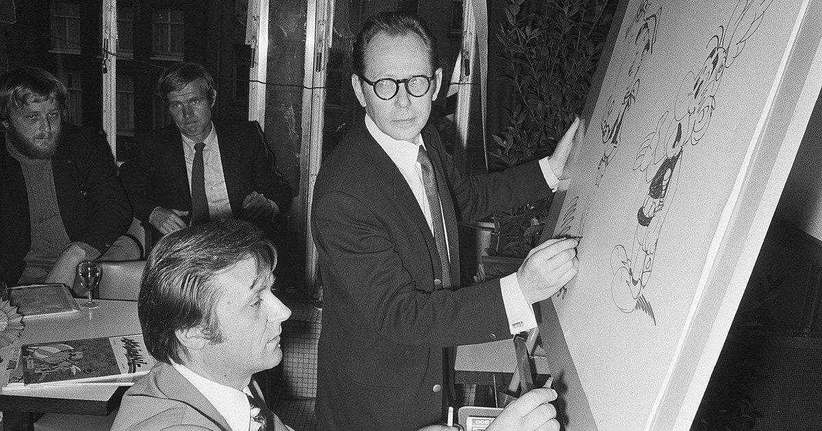 Le dessinateur d'Astérix et Obélix, Albert Uderzo est mort à 92 ans