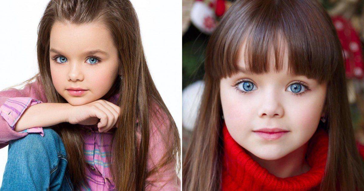 Anna Knyazeva est élue plus belle petite fille du monde