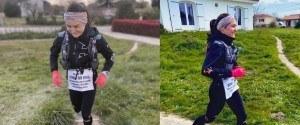 Une athlète confinée court 85 km dans son jardin pour...