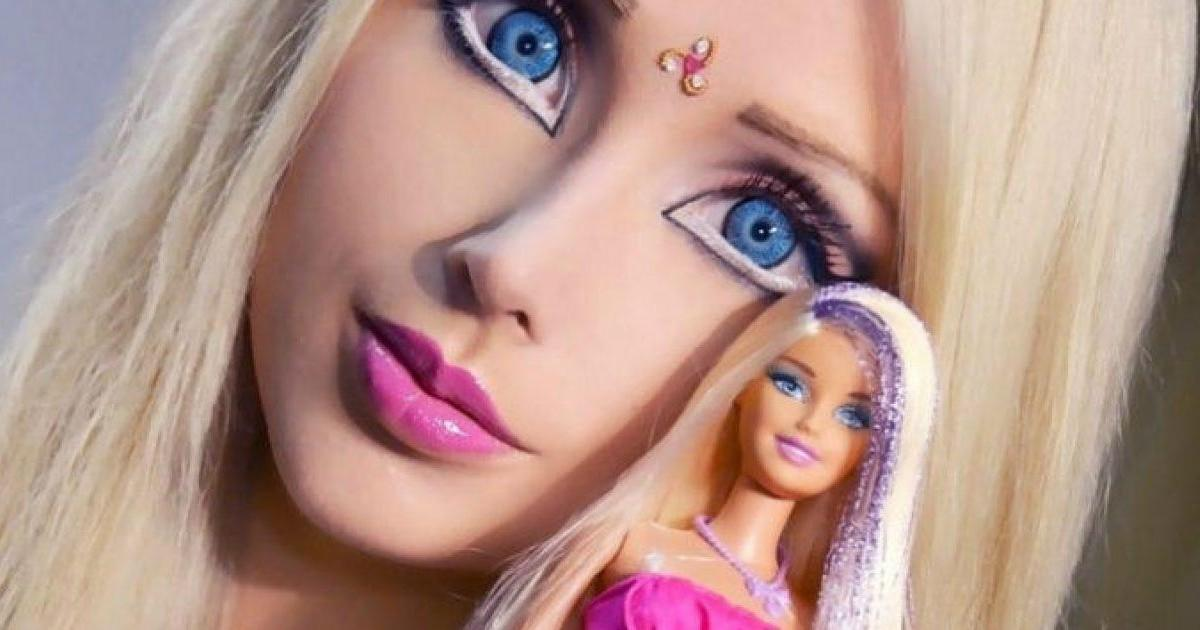 La Barbie humaine, Valeria Lukyanova à bien changé aujourd'hui
