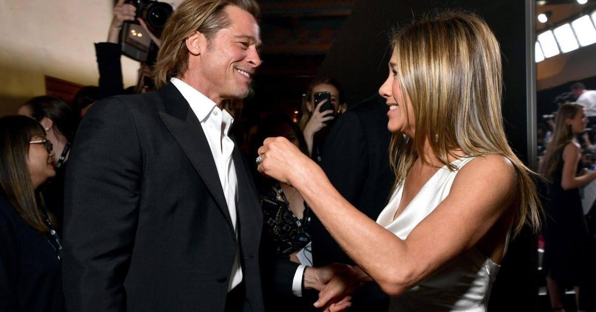 Brad Pitt et Jennifer Aniston seraient de nouveau en couple