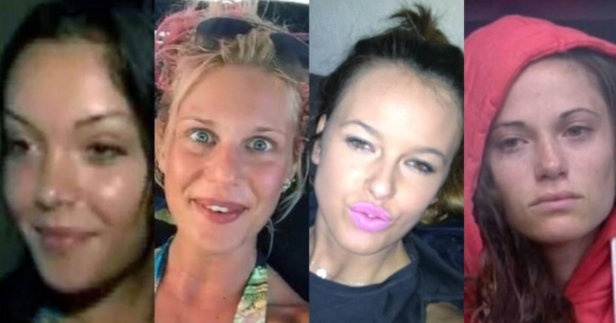 Les candidates de télé-réalité sans maquillage et sans retouche photo