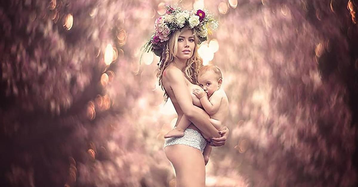Cette photographe capture des mamans allaitant leur bébé