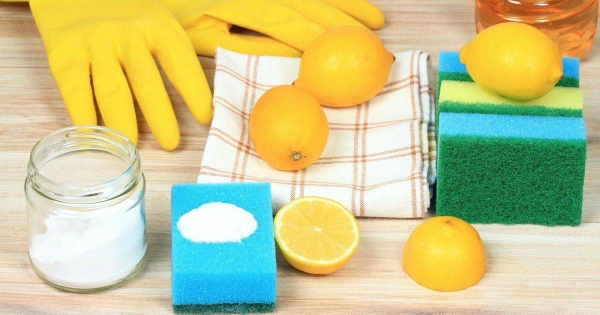 13 astuces de grand-mère avec du citron au bicarbonate de soude