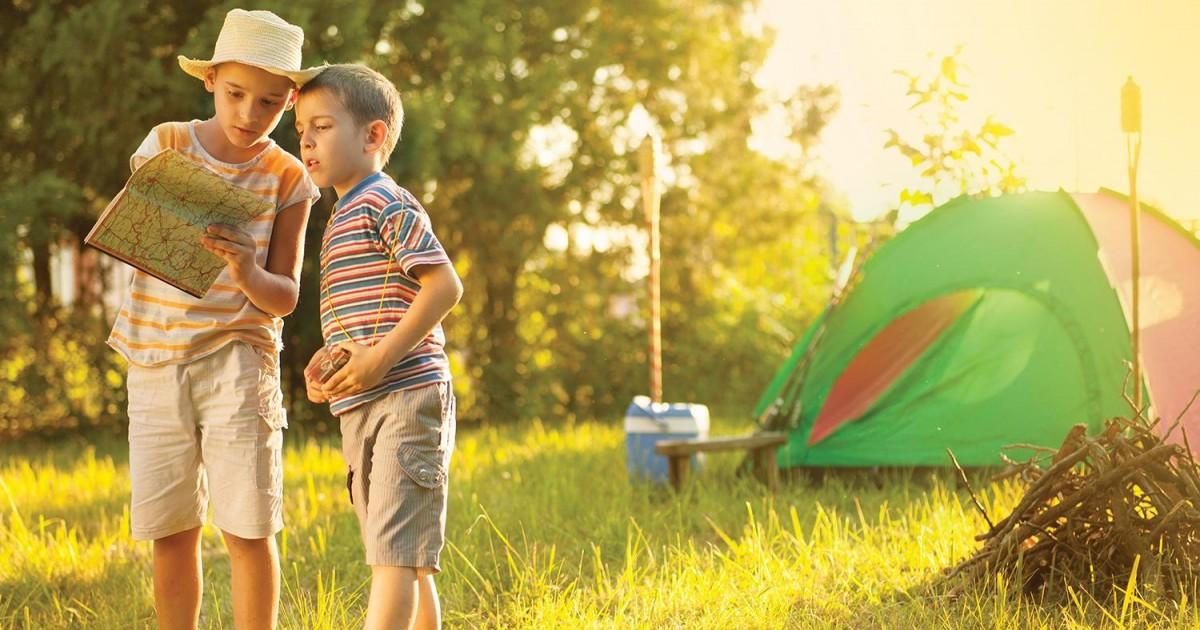 La colonie de vacances sont toujours tendance pour les plus jeunes