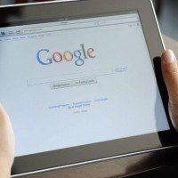 Google en page accueil