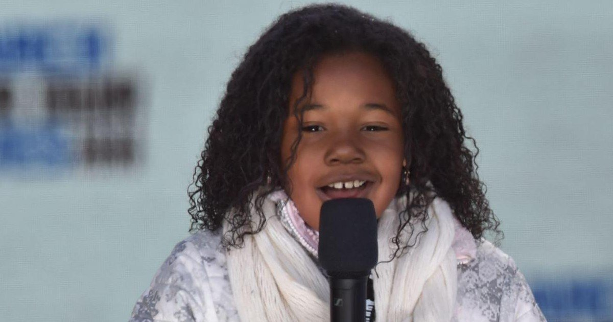 La petite fille de Martin Luther King fait un discours - émotion