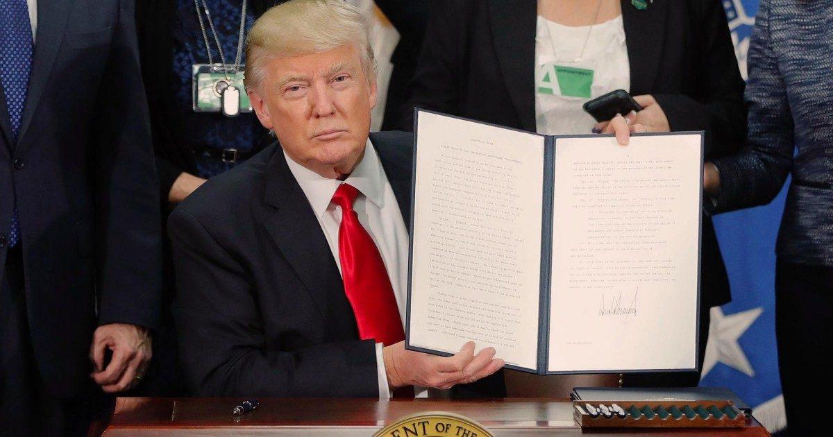 Pour lutter contre le coronavirus Donald Trump ne veut plus d'immigration