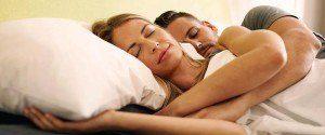 D'après une nouvelle étude, dormir à deux fait du bien à la...