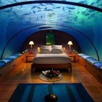 Cet hôtel incroyable vous propose de dormir sous l'océan