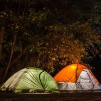 Camper en Bretagne