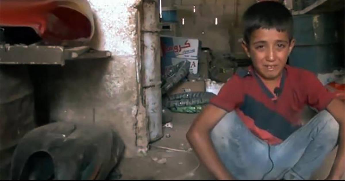 Cet enfant syrien expose son regard sur la guerre qui touche son pays