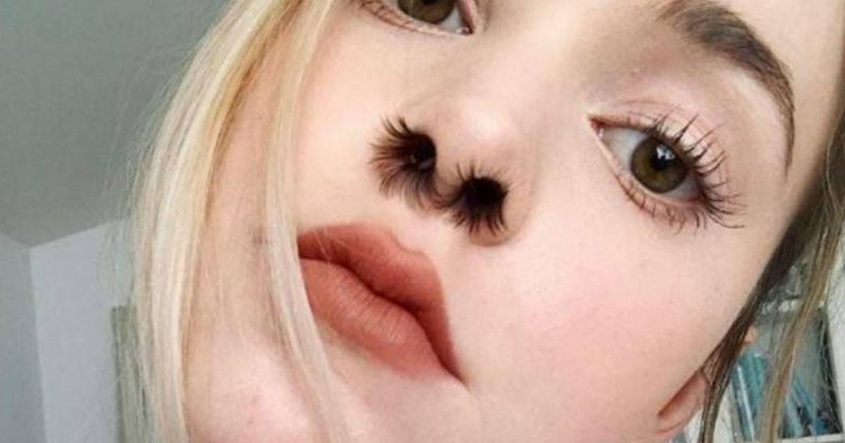 La nouvelle tendance beauté, les extensions de poils de nez!