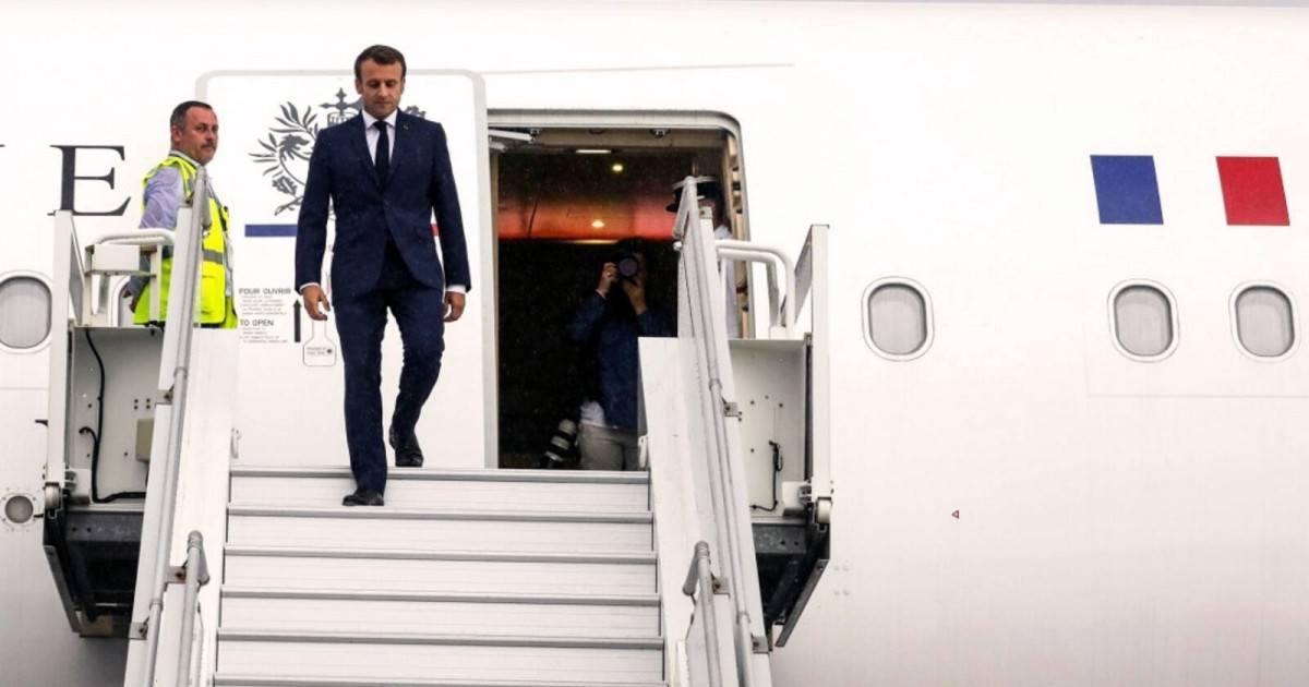 La facture des voyages en avion du président Emmanuel Macron est salée