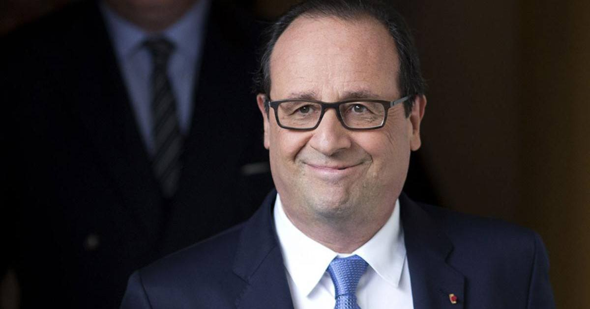 François Hollande finit bourré à l'expo du vin bordelaise