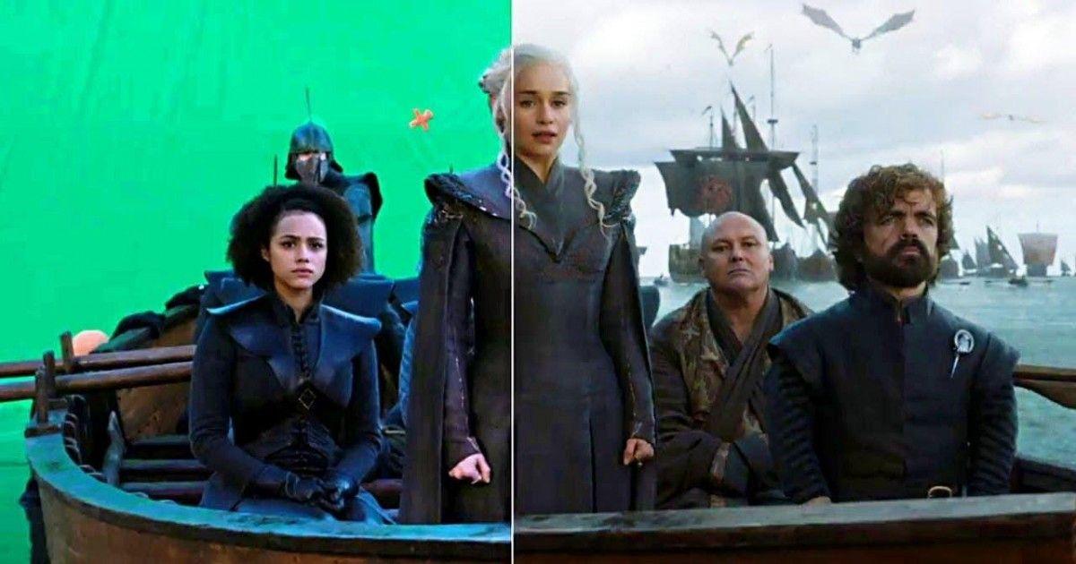 A quoi ressemble l'envers du décor lors du tournage de Game of Thrones