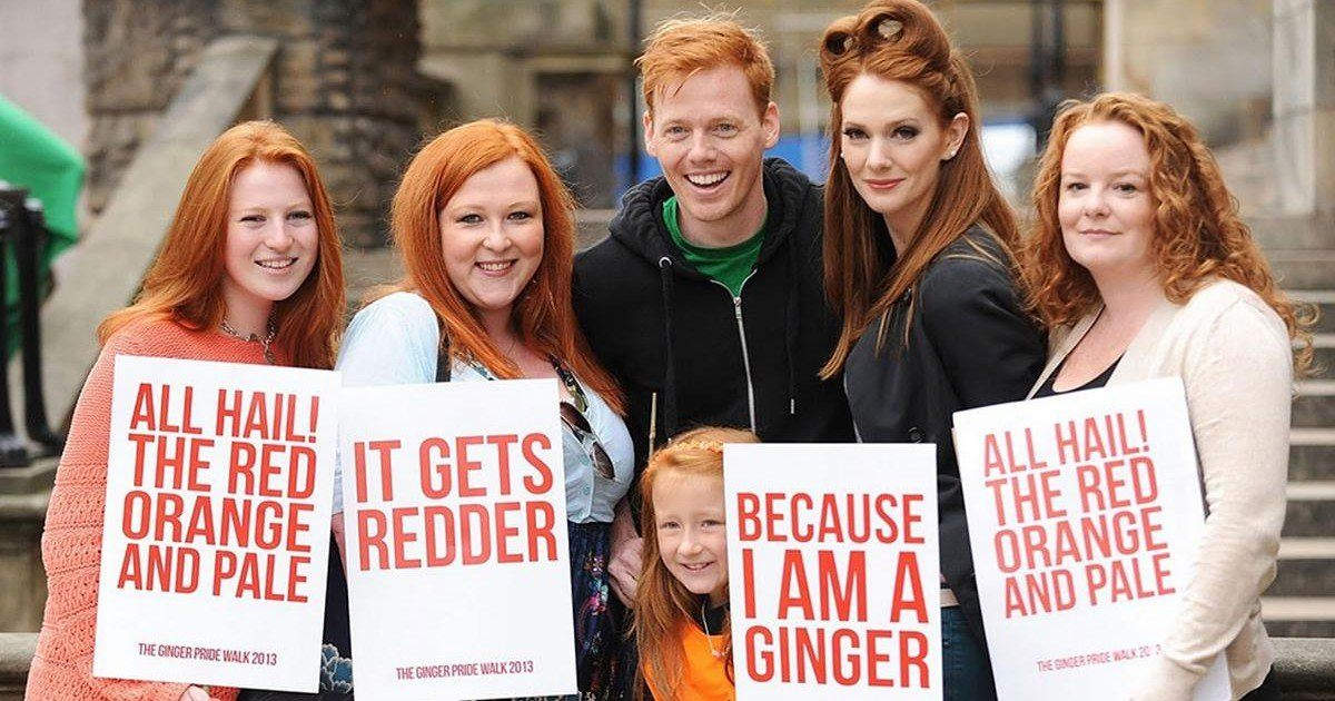 Ginger Pride, le défilé des roux débarque en Angleterre