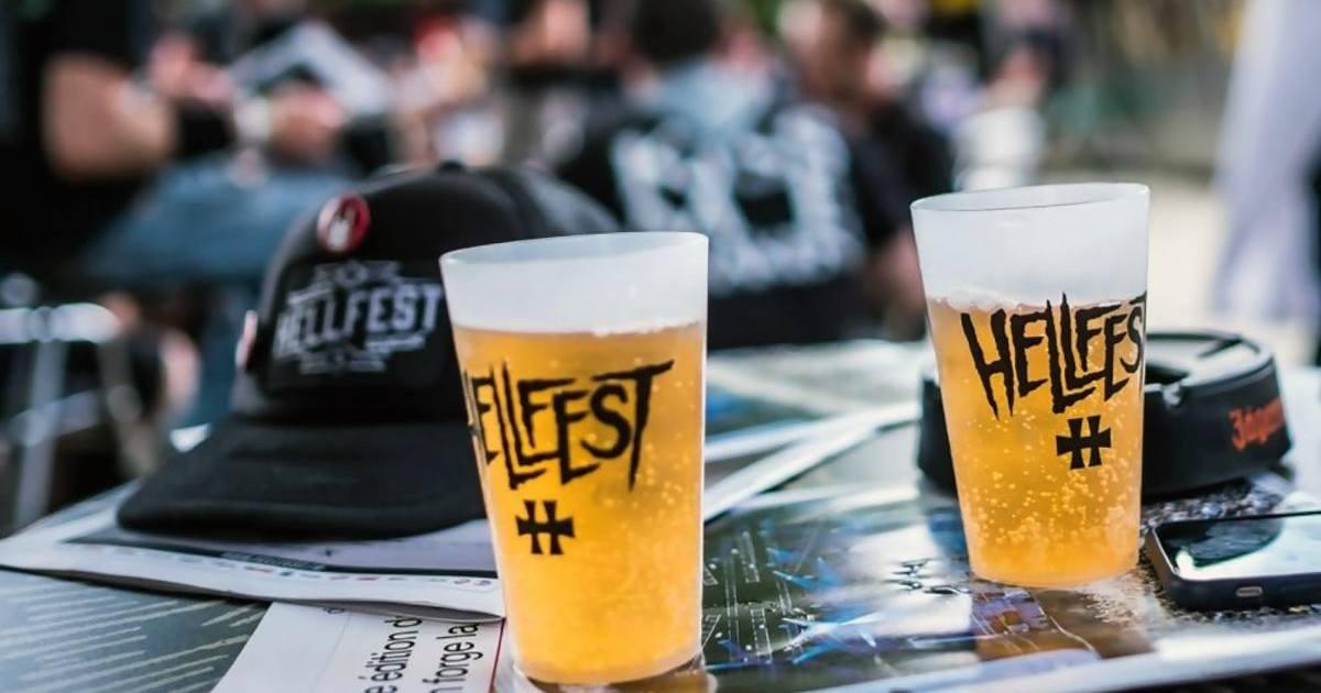Hellfest : le festival a battu son record de consommation de bière