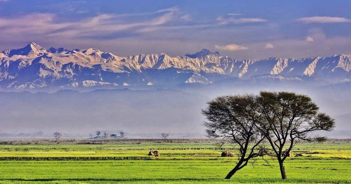 Pour la première fois on peut voir l'Himalaya à 200km en Inde