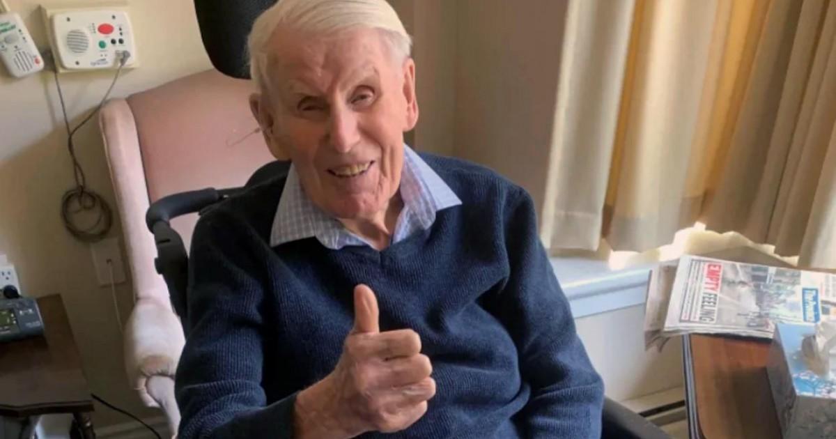 Un homme âgé de 99 ans guéri du coronavirus au Canada