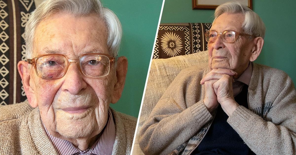 Cet Anglais est à 112 ans l'homme le plus vieux du monde