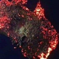 La terrible image en 3D des incendies en Australie faite par la Nasa