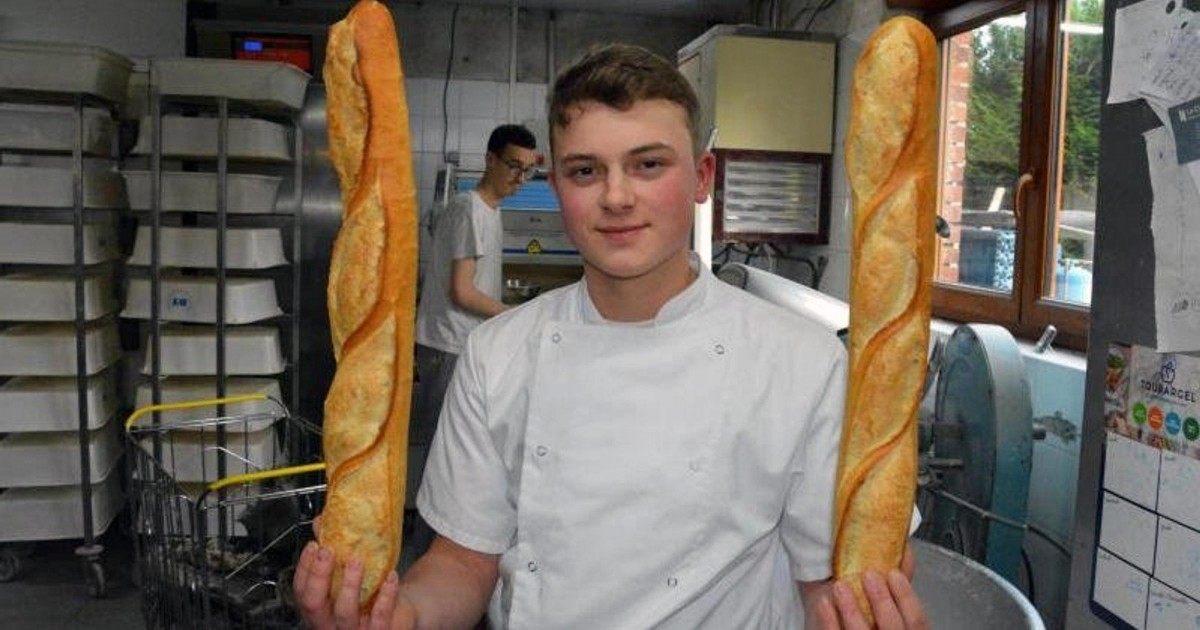Ce jeune homme gère seul une boulangerie à l'âge de 19 ans