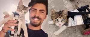 Ce jeune homme de 23 ans vient en aide aux animaux...