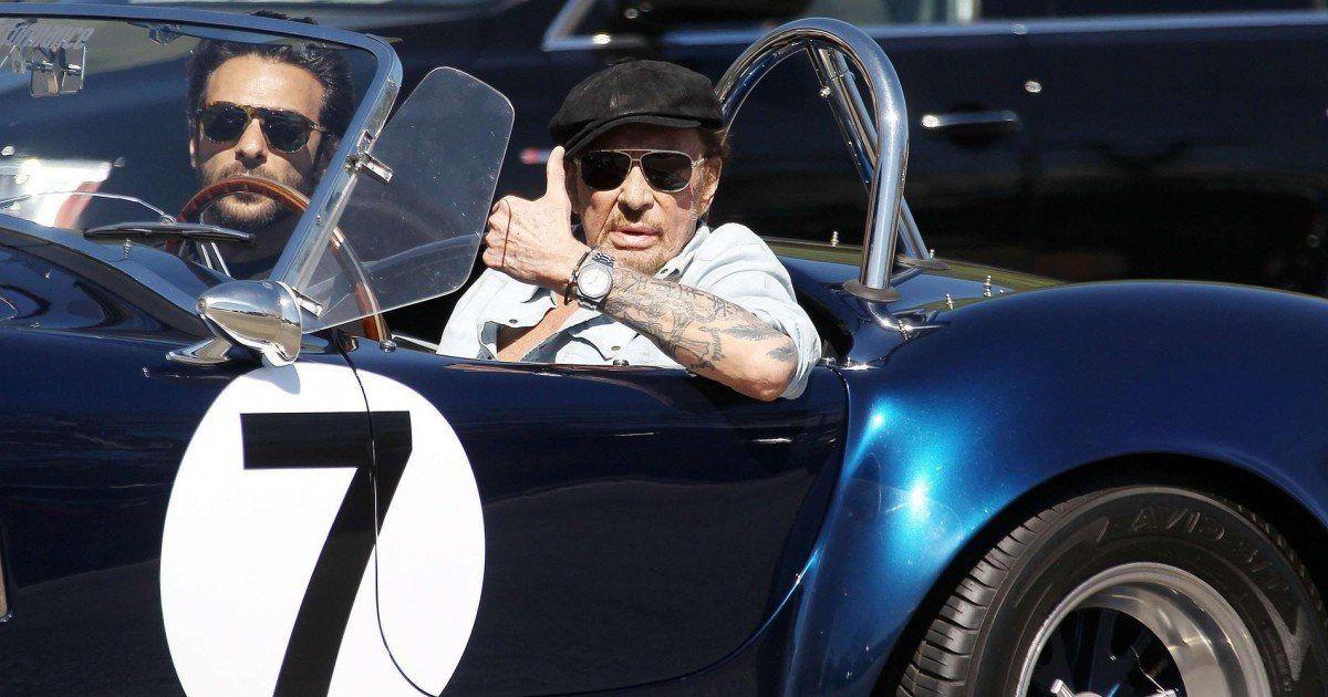 Johnny Hallyday : sa voiture mise aux enchères vaut une fortune