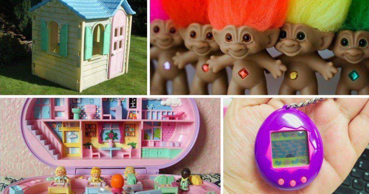 Découvrez le top 10 des jouets cultes qui ont marqués les années 90
