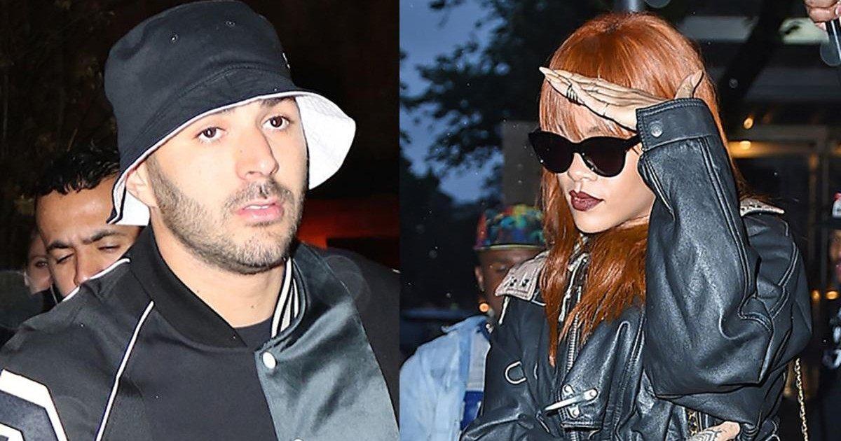 Karim Benzema se serait fait chiper Rihanna par une star de la F1 !