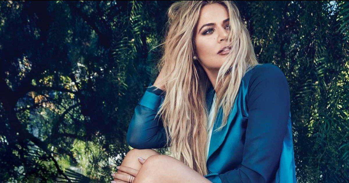La people Khloé Kardashian, nous dévoile une photo d'elle enceinte