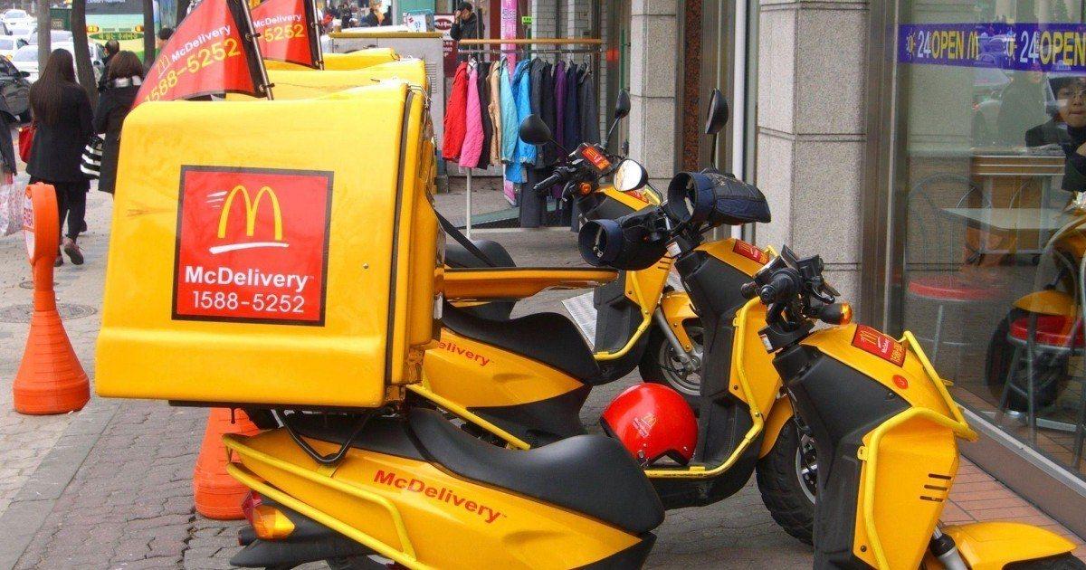 La livraison à domicile : vous en rêviez, McDonald's l'a fait !