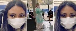 Maeva Ghennam se fait dépister en urgence du Coronavirus
