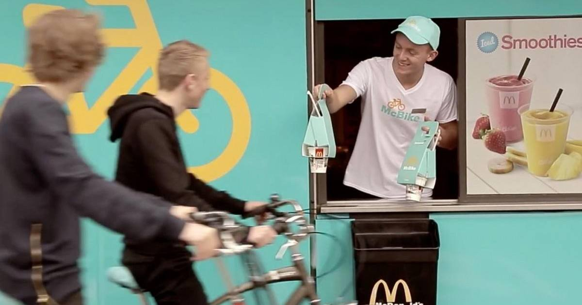 McDonald's sort le McBike, un packaging pour les cyclistes