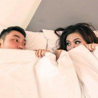 Côté du lit pour dormir