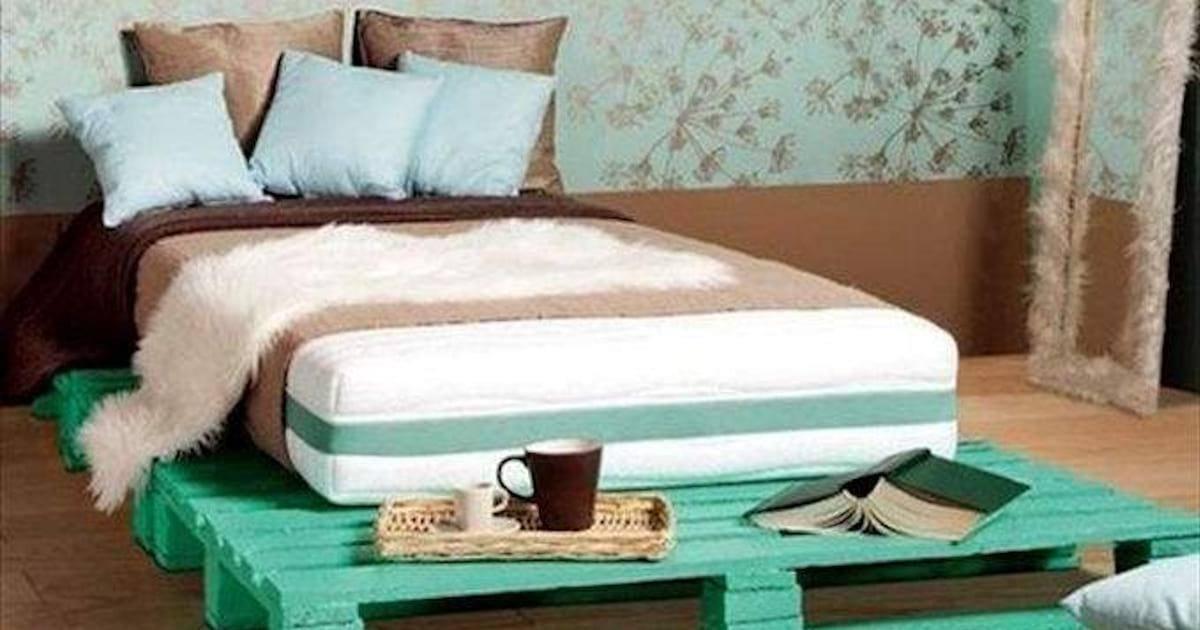 Comment faire pour meubler votre maison en utilisant des palettes