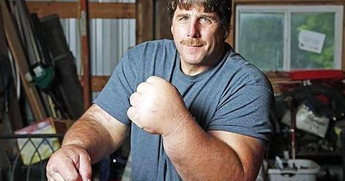 Musclé comme Popeye, Jeff Dabe veut devenir champion de bras de fer !