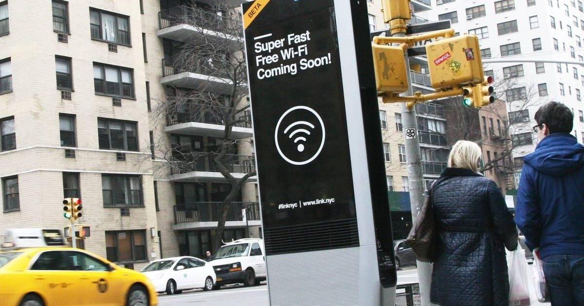 New York : des bornes wifi pour remplacer les cabines téléphoniques
