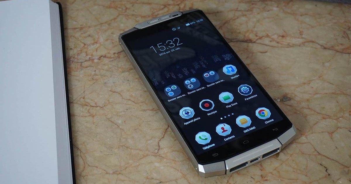 Oukitel K10000 : le smartphone aurait 15 jours d'autonomie