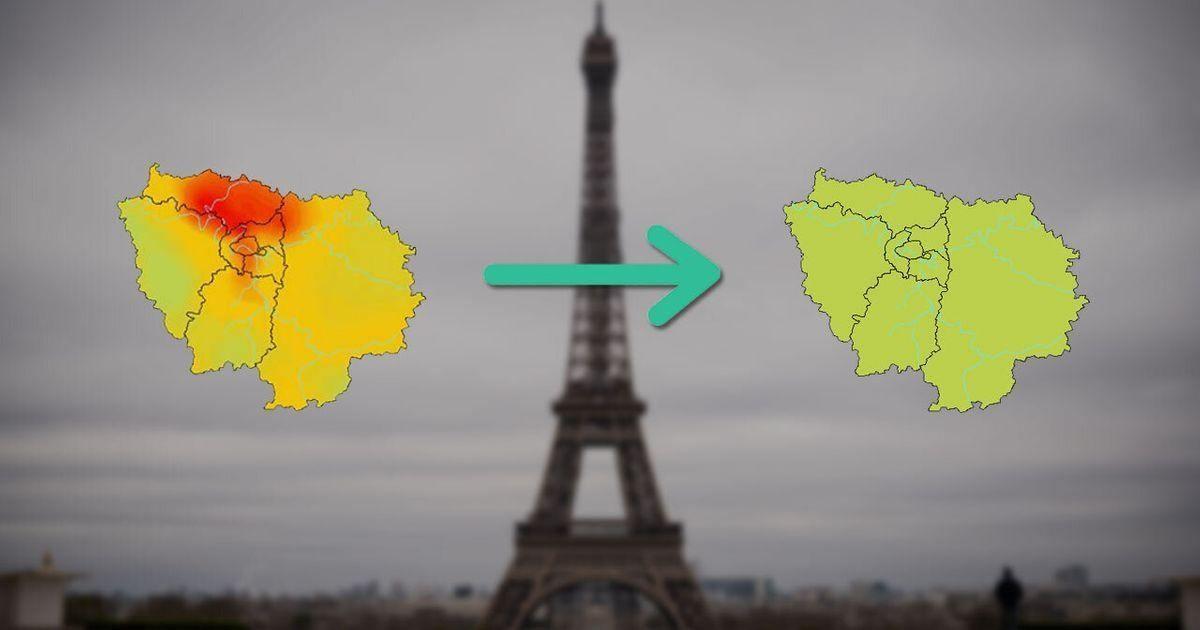 Depuis le début du confinement, la pollution de l'air baisse à Paris