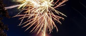 Pensez au feu d'artifice pour les événements importants...
