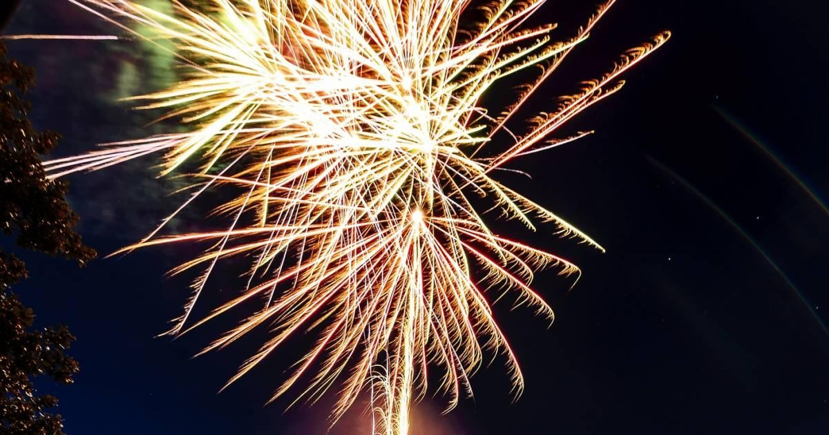 Pensez au feu d'artifice pour les événements importants de votre vie !