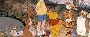 Les personnages de Winnie l'ourson ont été écrit pour...