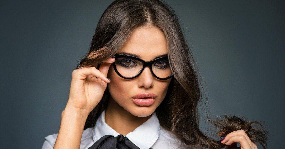 Fille avec lunettes