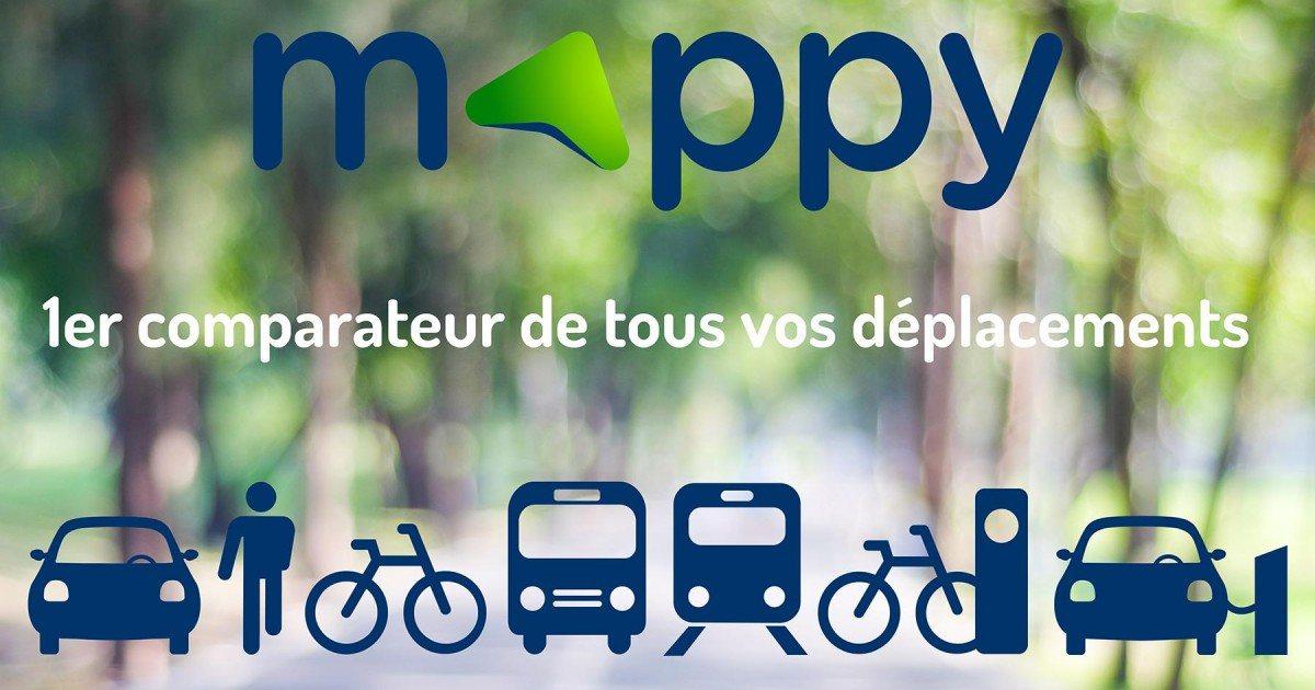 Comment faire pour rechercher un itinéraire sur Mappy pour voiture