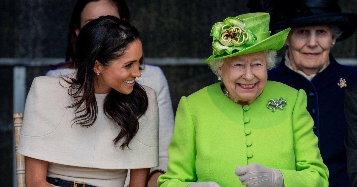 La reine adore Meghan Markle et lui offre un cadeau plein de significations