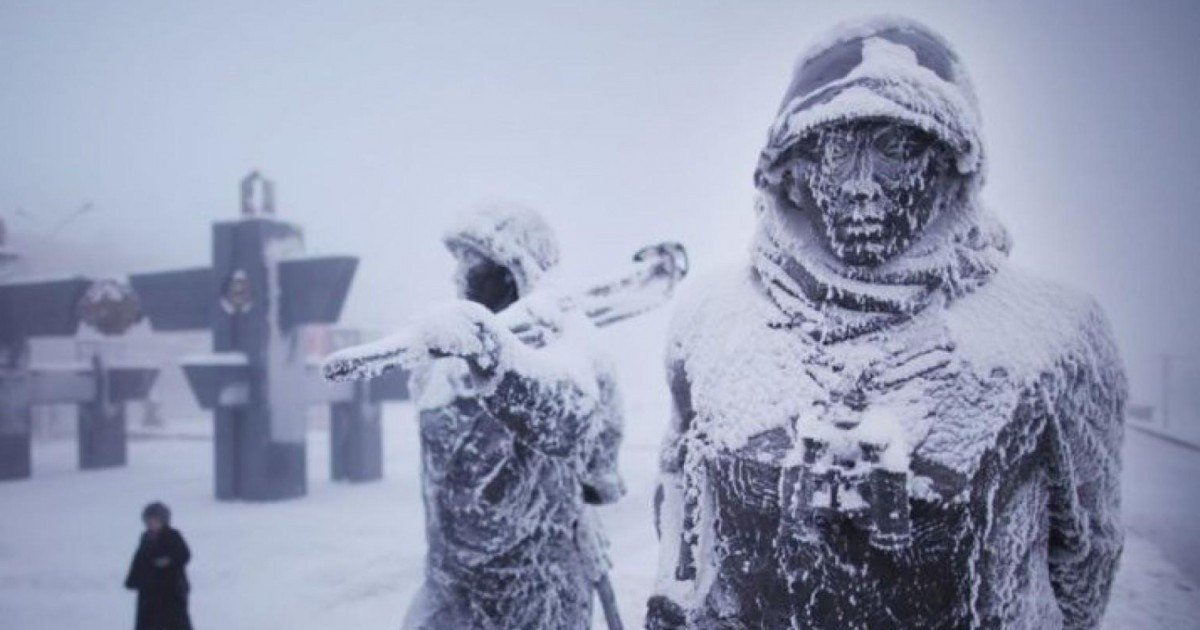 Voici à quoi ressemble la vie à Oymyakon, la ville la plus froide du monde
