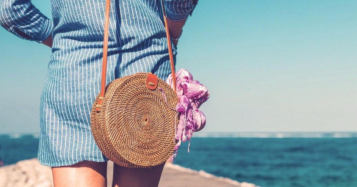 Le sac en rotin est la nouvelle tendance mode de cet été 2019
