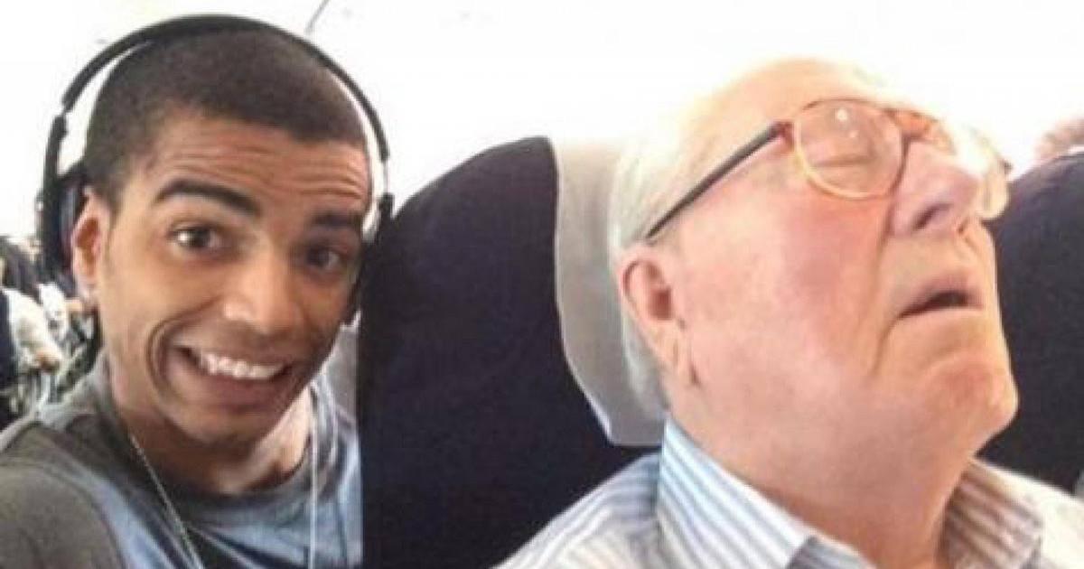 Un selfie de Brahim Zaibat avec Jean-Marie Le Pen fait le buzz